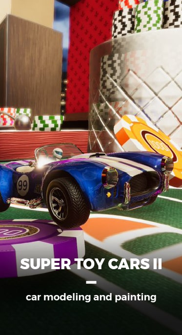 SUPER TOY CARS II