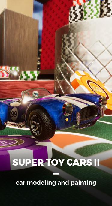 SUPER TOY CARS II